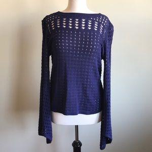 Adorable Lightweight Navy Sweater